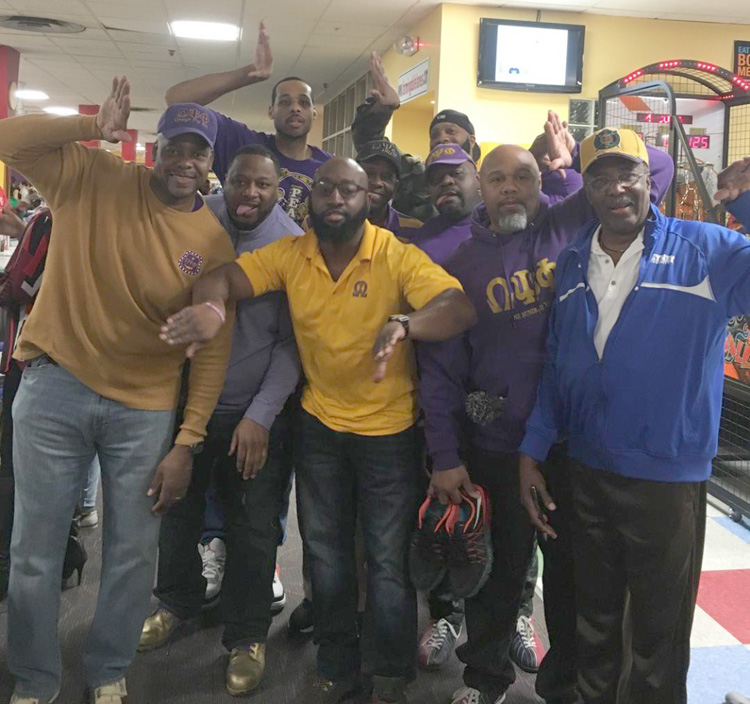NPHC Bowling Event