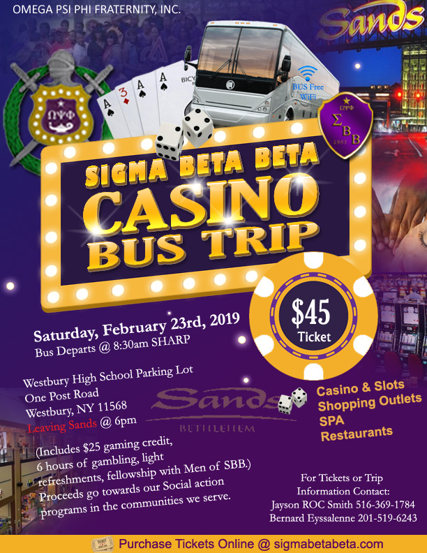 Sands Casino Bus Trip